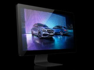 Interactive Highlights – Mercedes-Benz