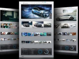 Mercedes-Benz.com & Evolution